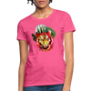 Watercolor Tiger Women's T-Shirt - heather pink