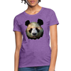Panda Women's T-Shirt - purple heather