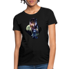 Young wolf Women's T-Shirt - black