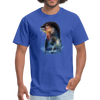Otter t-shirt - Animal Face T-Shirt - royal blue