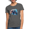 Dolphin Women's T-Shirt - charcoal