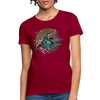 King fisher Women's T-Shirt - dark red