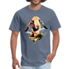 Goat t-shirt - Animal Face T-Shirt - denim