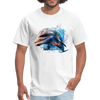 Dolphin t-shirt - Animal Face T-Shirt - white