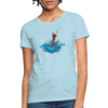 Jumping shark Women's T-Shirt - powder blue