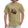 Mouse t-shirt - Animal Face T-Shirt - khaki