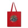 King fisher Tote Bag - red