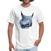 Nothern Lynx t-shirt - Animal Face T-Shirt - white