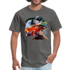 River trout t-shirt - Animal Face T-Shirt - charcoal