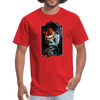 Gorilla t-shirt - Animal Face T-Shirt - red