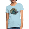 King fisher Women's T-Shirt - powder blue