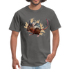 Mouse t-shirt - Animal Face T-Shirt - charcoal