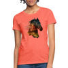 Horse Women's T-Shirt - heather coral