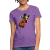 Giraffe Women's T-Shirt - purple heather
