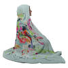 Colorful Birds Hooded Blanket