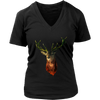Deer Women T-Shirt - Animal Face T-Shirt