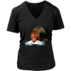 Grizzly Bear Women T-Shirt - Animal Face T-Shirt