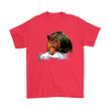 Grizzly Bear T-Shirt - Animal Face T-Shirt