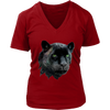 Black Panther Women T-Shirt - Animal Face T-Shirt