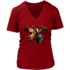 Moose Women T-Shirt - Animal Face T-Shirt