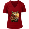 Owl Women T-Shirt - Animal Face T-Shirt