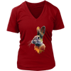 Rabbit Women T-Shirt - Animal Face T-Shirt