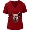 Pig Women T-Shirt - Animal Face T-Shirt