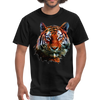 Tiger t-shirt - Animal Face T-Shirt - black