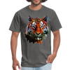Tiger t-shirt - Animal Face T-Shirt - charcoal
