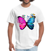 Butterflies Men's T-Shirt - white