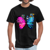 Butterflies Men's T-Shirt - black