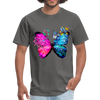 Butterflies Men's T-Shirt - charcoal
