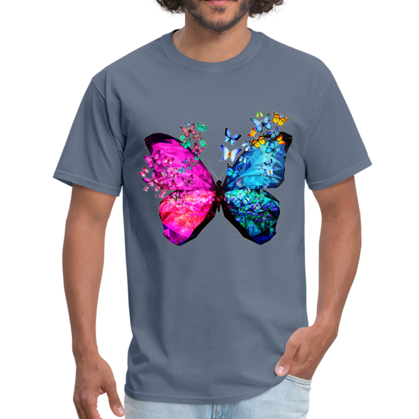 Butterflies Men's T-Shirt - denim