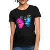 Butterflies Women's T-Shirt - black