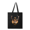 Deer Hunting Season Tote Bag - black