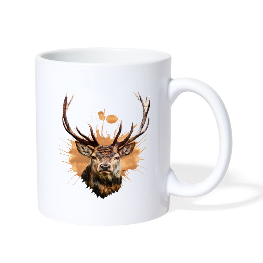 Deer Hunting Season Coffee/Tea Mug - white