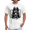 Bear fight Men's T-Shirt - white