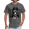Bear fight Men's T-Shirt - charcoal