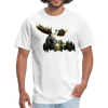 Forest Moose Men's T-Shirt - white