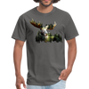 Forest Moose Men's T-Shirt - charcoal