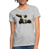 Forest Moose Women's T-Shirt - heather gray