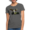 Forest Moose Women's T-Shirt - charcoal