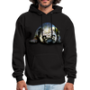 Pug Dog Men's Hoodie - black