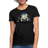Pug Dog Women's T-Shirt - black