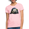 Pug Dog Women's T-Shirt - pink