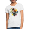 Fox and Feathers Women's T-Shirt - white