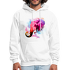 Polygone Elephant Men's Hoodie - white