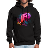 Polygone Elephant Men's Hoodie - black