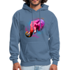 Polygone Elephant Men's Hoodie - denim blue