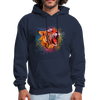 Polygone Tiger Men's Hoodie - navy